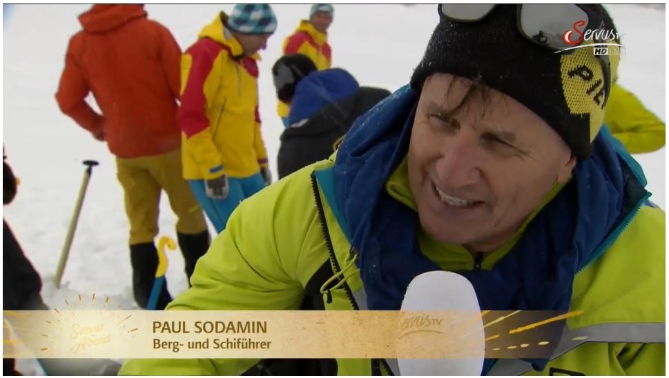 Paul Sodamin auf ServusTV