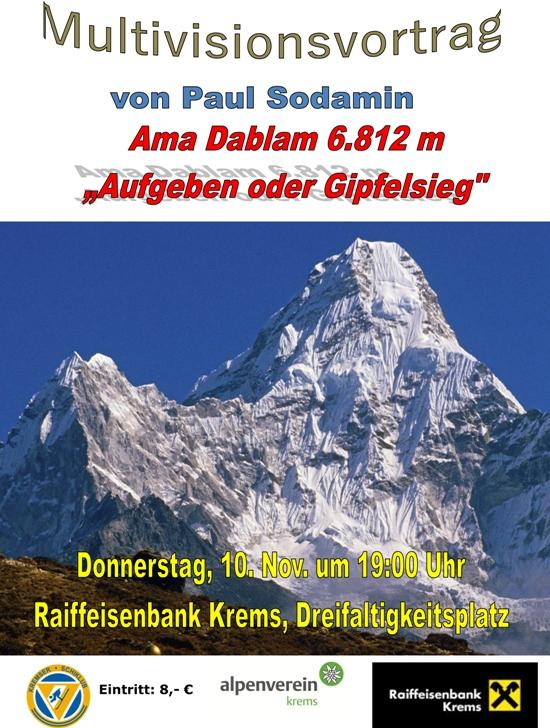 Vortrag Alpenverein Krems