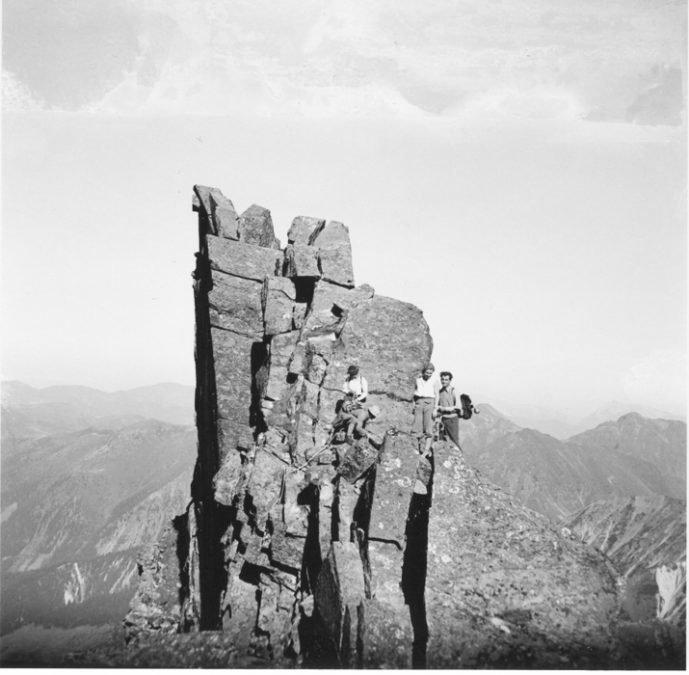 Gamskögelgrat 2386 m in den Triebener Tauern
