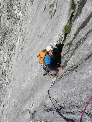 Klettern im Gesäuse mit Bergführer