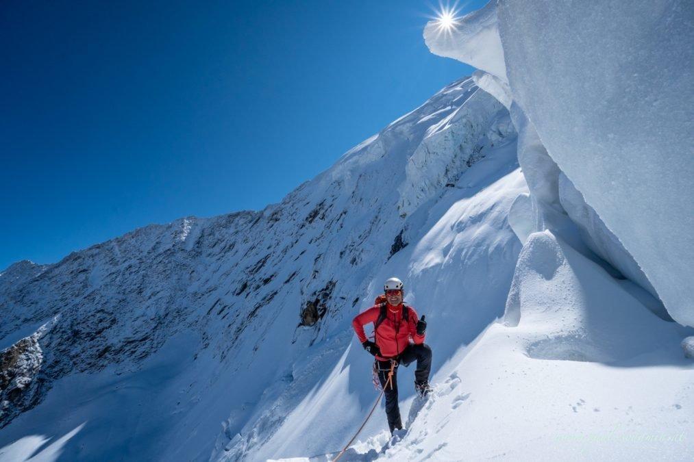 Weissmies 4.023 m im Puiva