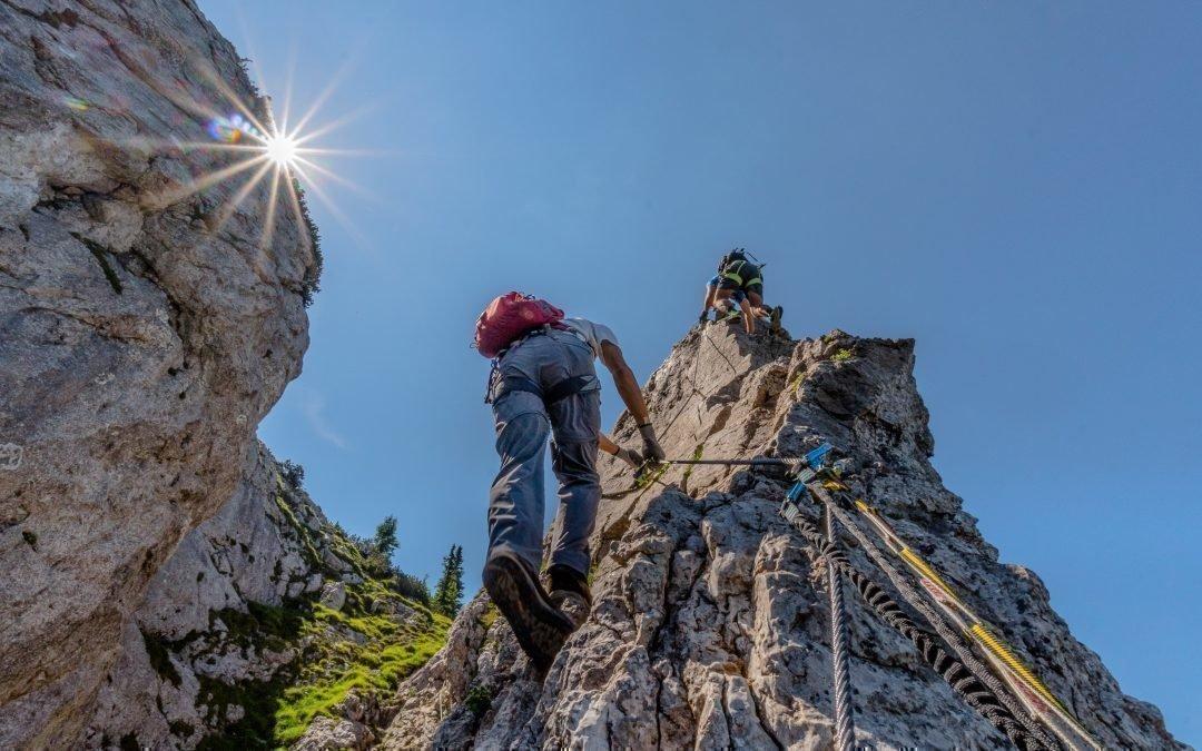 Klettersteige mit Bergführer – Hochlantsch