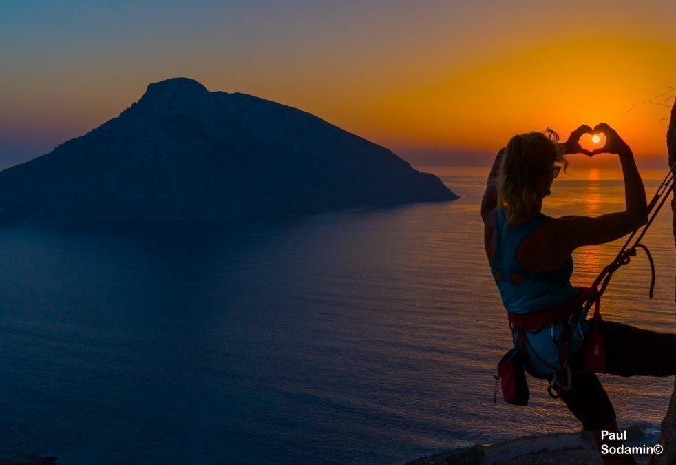 Klettern Kalymnos mit Bergführer