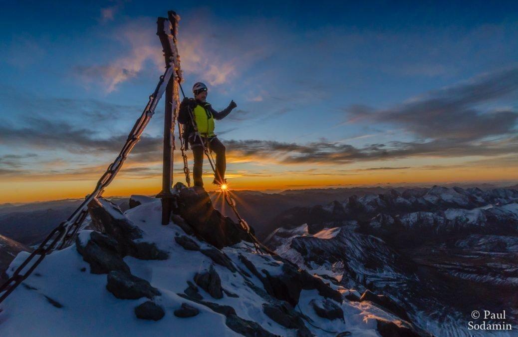 Der Großglockner 3798m, seine Majestät, unser höchster Berg Österreichs.