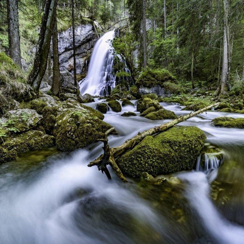 """""""Wasser fasziniert …""""  Gollinger Wasserfall"""