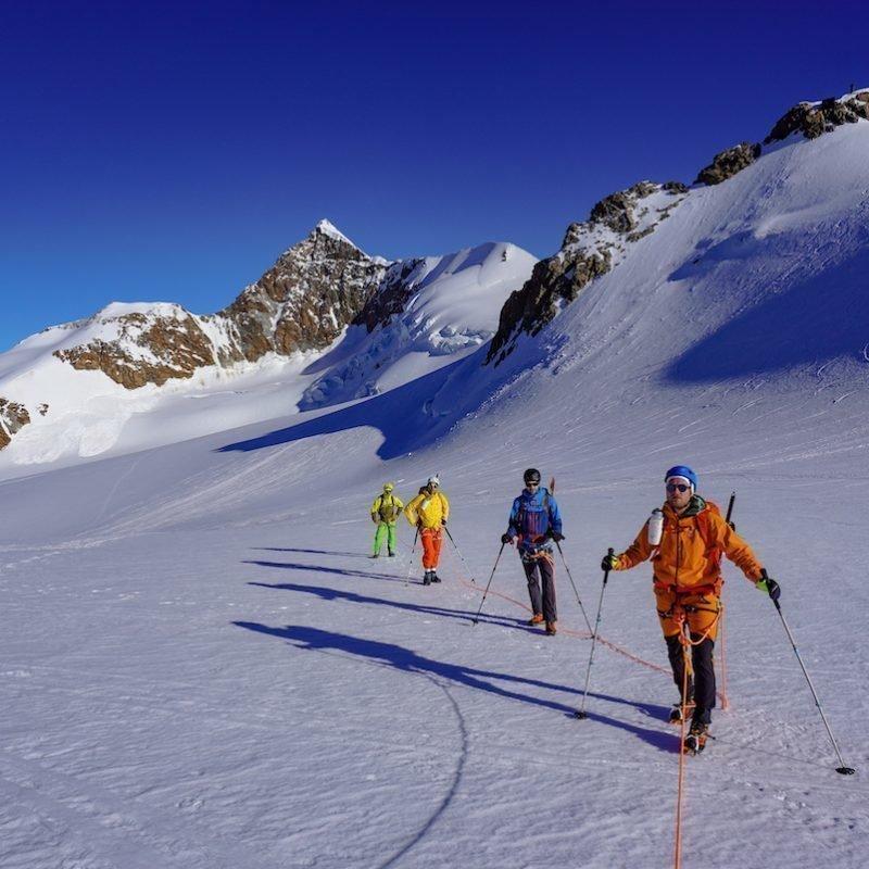 Monte Rosa Süd: 5x 4000er  Parade aus dem Aostatal Tag1