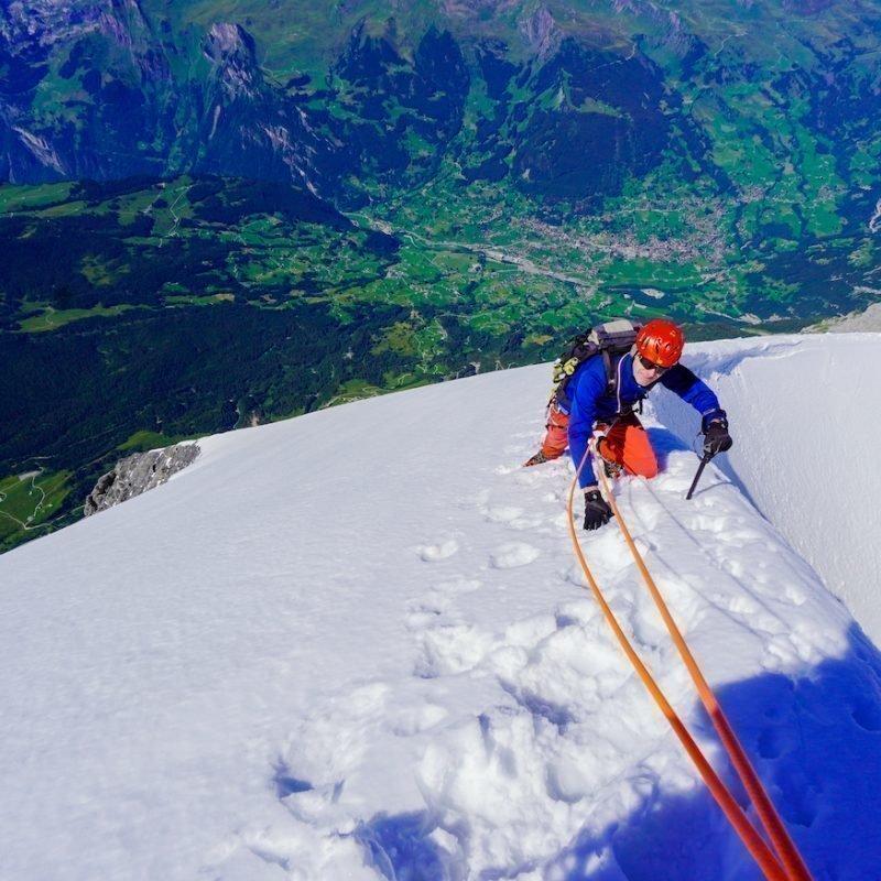 Eiger 3970 m – Mittellegigrat – einer der schönsten Grattouren im Alpenraum