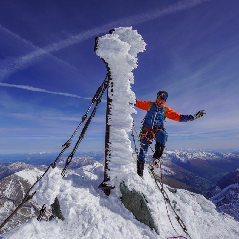 Top of Austria – Großglockner 3798m  mit Bruder Rudi