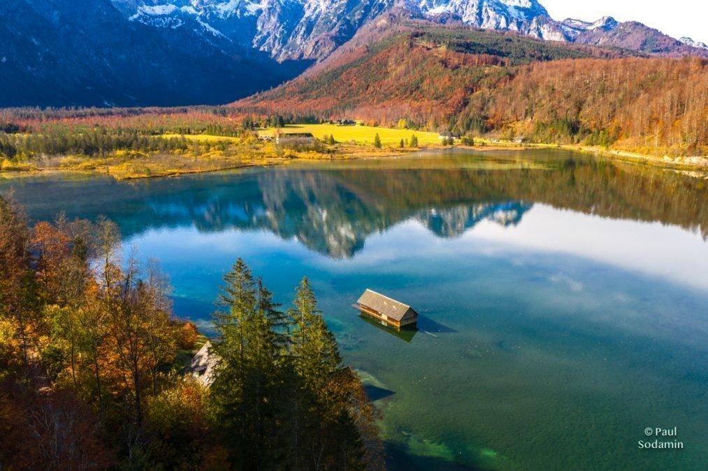 Der Almsee – bei Grünau in Oberösterreich