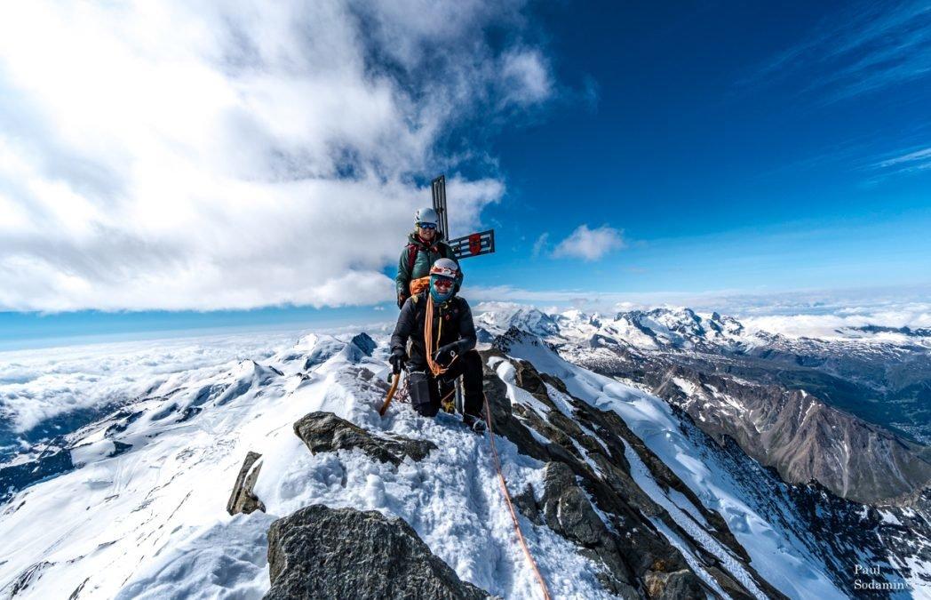Dom (4545m) Wallis Schweiz