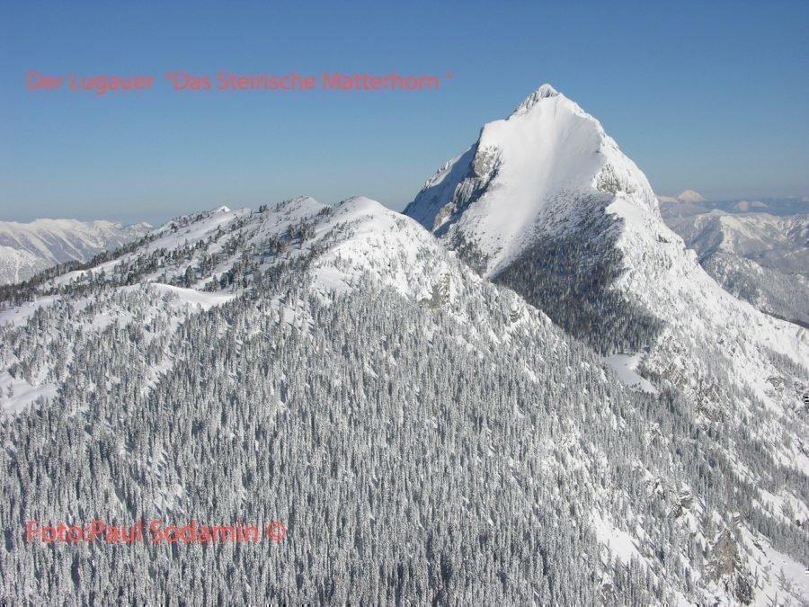 Der Lugauer – das steirische Matterhorn im Nationalpark Gesäuse