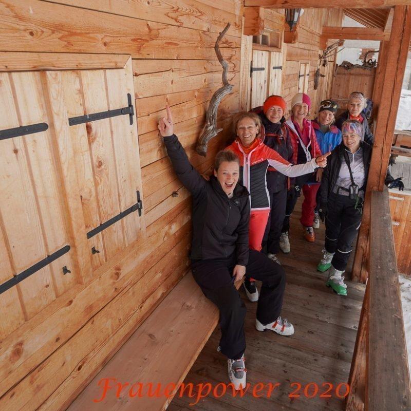 Frauenpower 2020 – Schitouren im Gsiesertal-Dolomiten