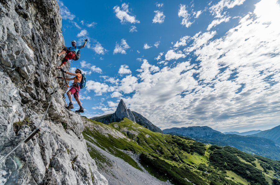 Klettersteige mit Bergführer – Gamsblick – Klettersteig Tauplitzalm