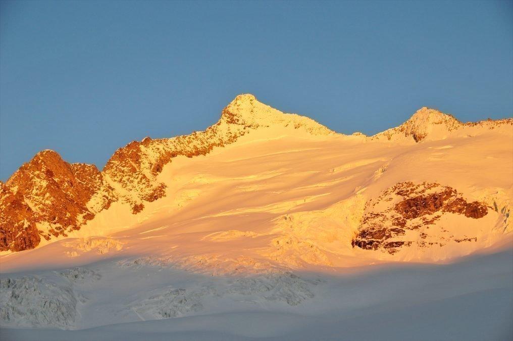 Großvenediger 3666m  von Norden – Kürsingerhütte