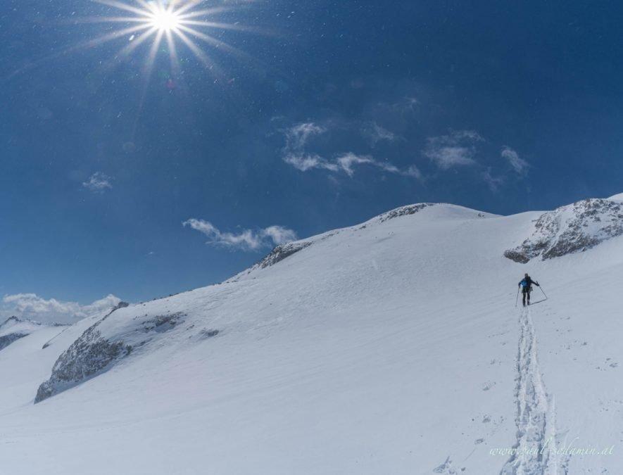 Skitour Hochalmspitze 3360m von der Kölnbreinsperre