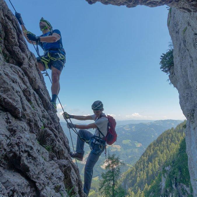 Hochlandsch Klettersteig