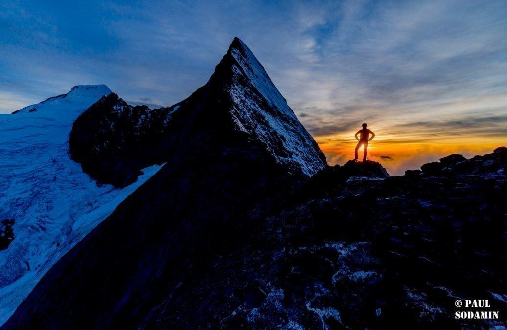 """Eiger 3970 m,  über Mittellegigrat   """"eine Traumtour """""""