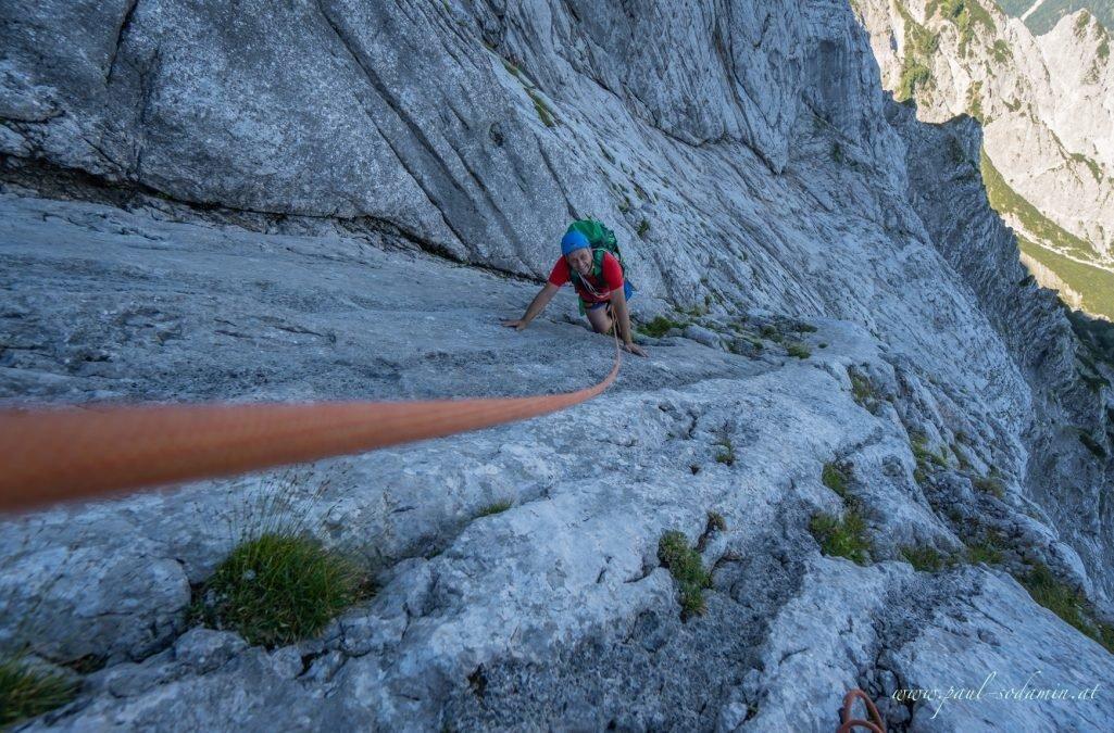 Klettern im Nationalpark Gesäuse -Hochtor Nordwand, Jahn – Zimmer