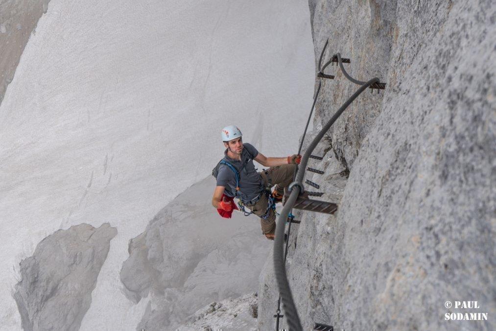 Super-Ferrata Dachstein: Klettersteige mit Bergführer – Anna – Johann und der Schulteranstieg am Dachstein