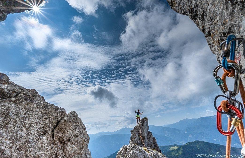 Kalbling Südgrat – Klettern in der Steiermark