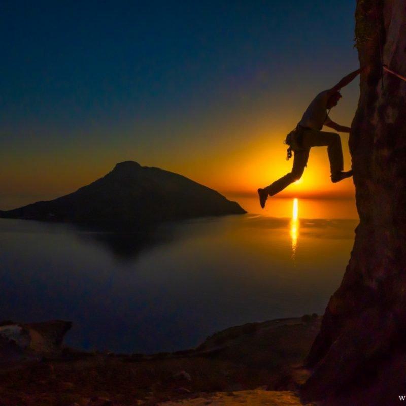 Climbing Kalymnos