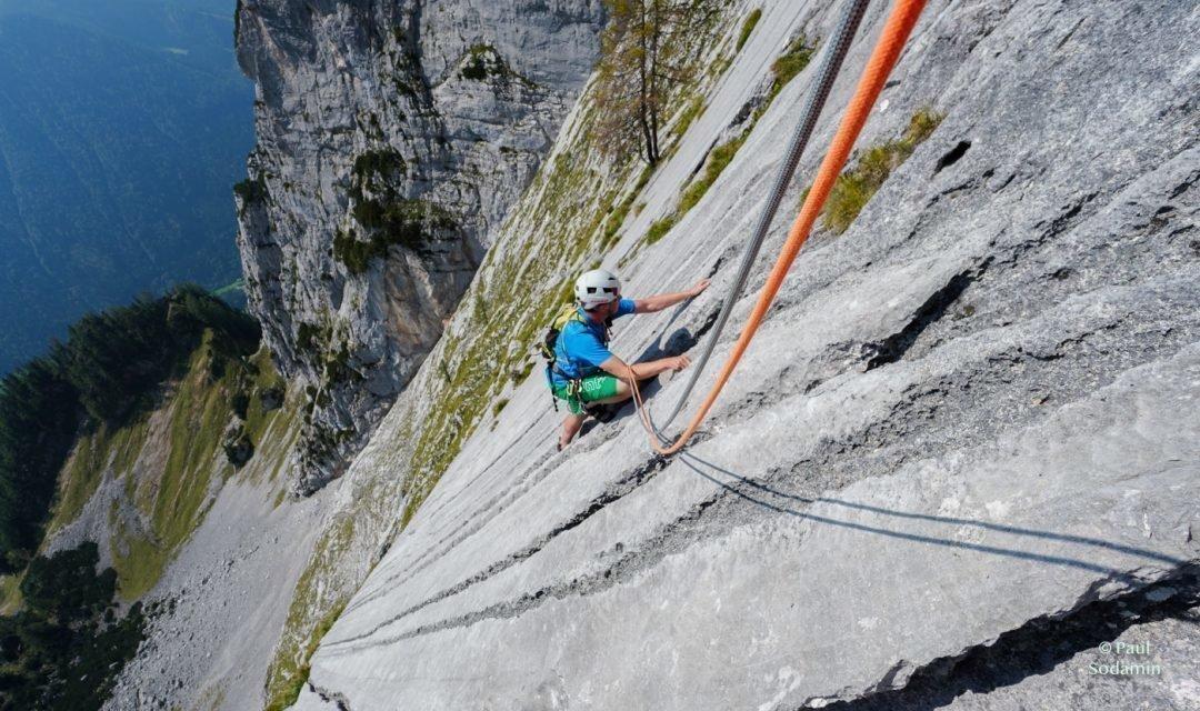 """Klettern im Nationalpark Gesäuse – """" Waidhofnerweg"""" am Kl. Ödstein """""""