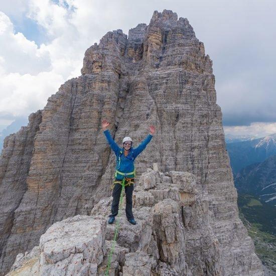 KL.Zinne 2856 m – Dolomiten