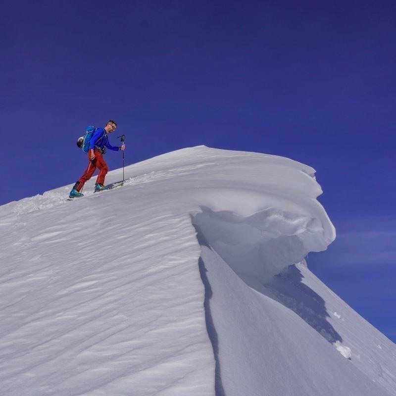 Schitour Klein Mölbling 2190 m in der Warscheneckgruppe