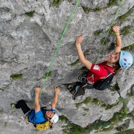 Kletterkurs in Puergg