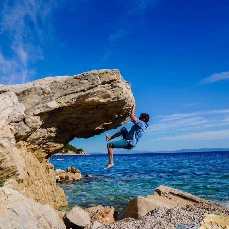 Climbing und Meer in Kroatien – Biokovo Gebirge – Makarska -Brela – 😁  22.06.2020