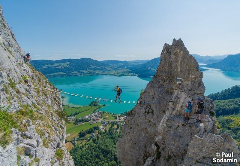 Klettersteig Drachenwand -©Sodamin Paul