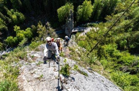Klettersteig Johnsbach 10