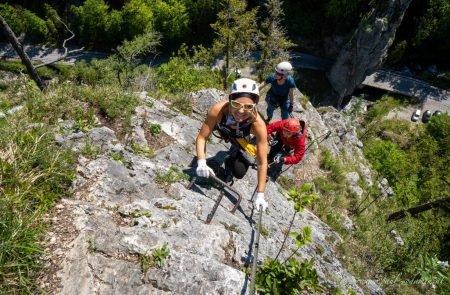 Klettersteig Johnsbach 11