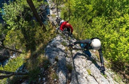 Klettersteig Johnsbach 2