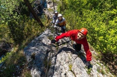 Klettersteig Johnsbach 3