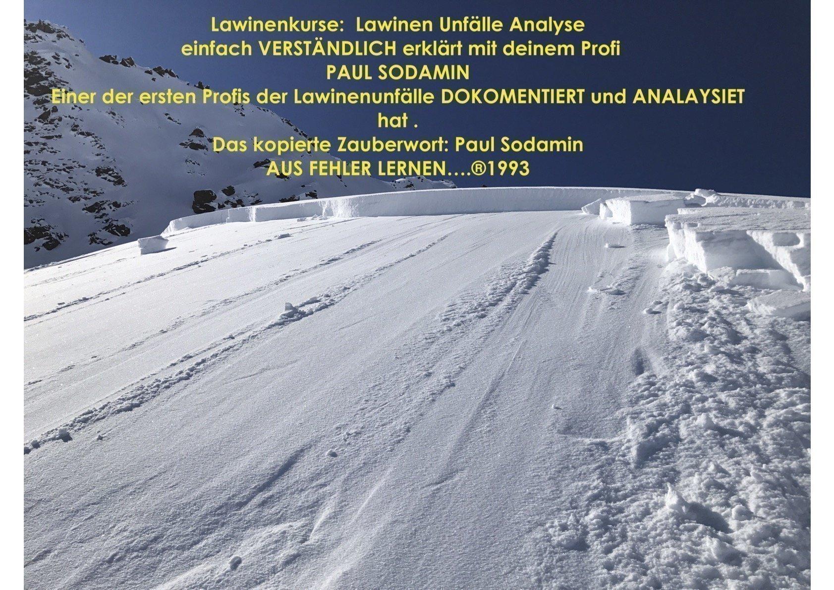 Lawinenkurse – Unfallbeispiele -Analyse – dein Bergführer