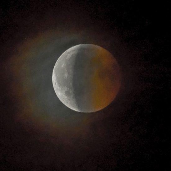 Mond am Sparafeld