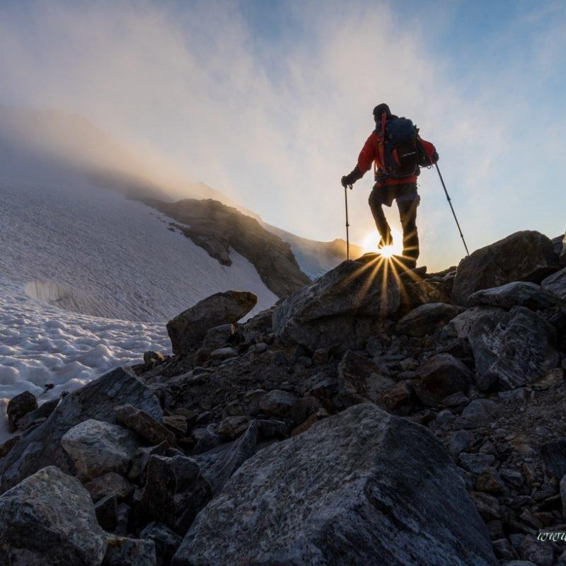 Leichte 4000er Hochtouren Monte Rosa