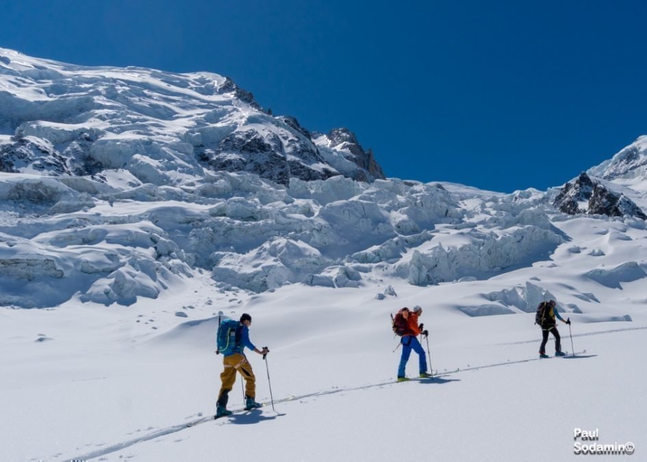 Hochtouren – Westalpen: Gr. Paradiso und Mt. Blanc 4808m mit Schi