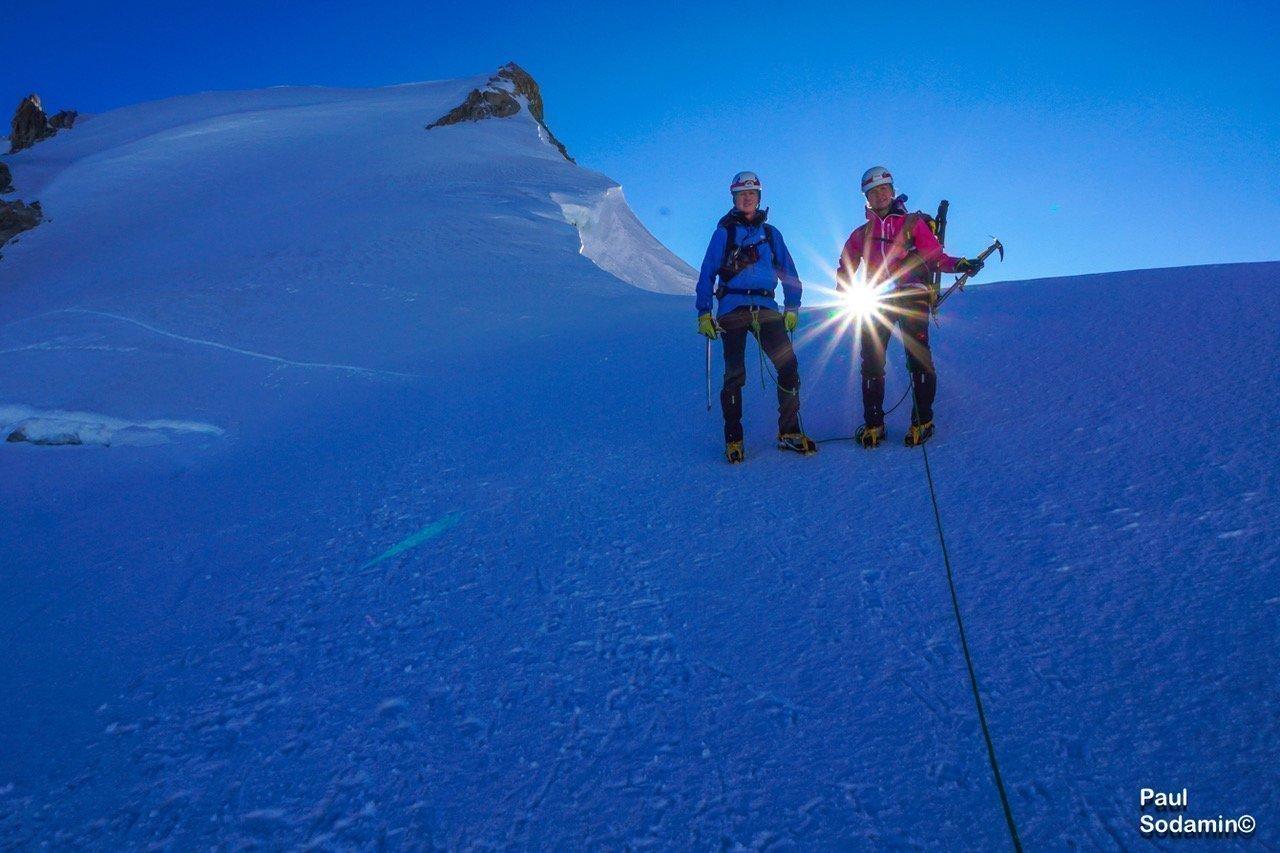 Mt.Blanc  4810 m    Travisierung