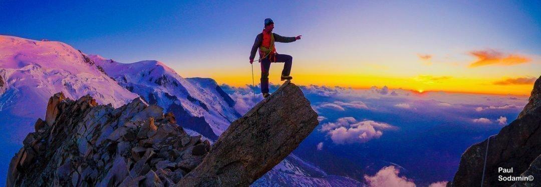 """Mont Blanc 4810 m,  Überschreitung – Eindrucksvolle Hochtour auf das """"Dach der Alpen"""""""