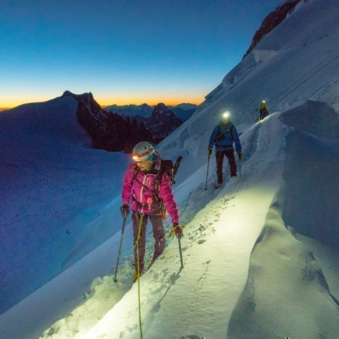 Mt.Blanc 4810m – Traverse