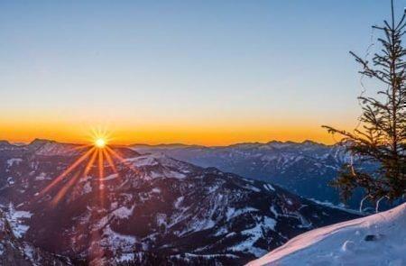 Panorama Sparafeld Sonnenaufgang