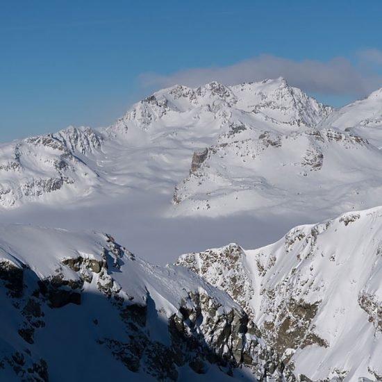 Piz Lagrev 3165 m Engadin CH