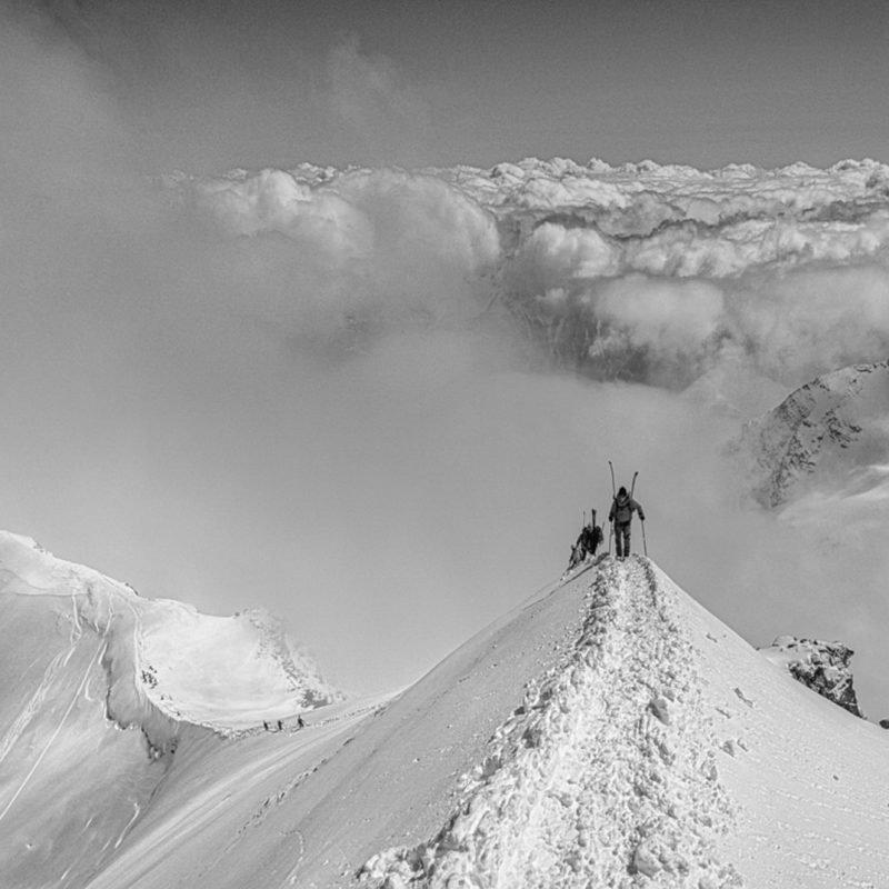 Skihochtour Piz Palü in der Bernina