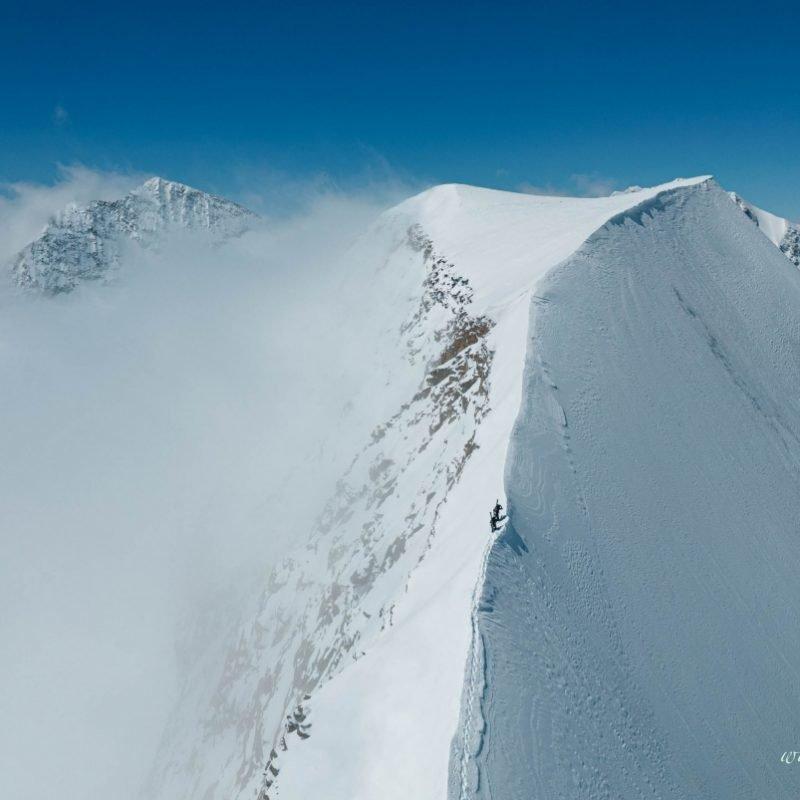 Luftaufnahmen Piz Palü 3900m