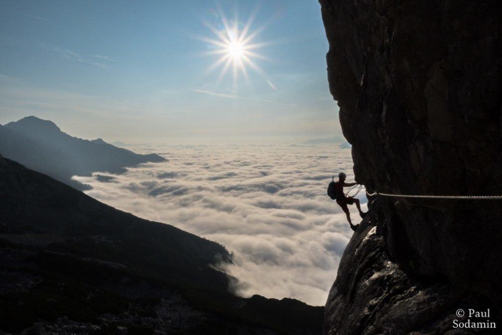 """""""Der Mega Klettersteig  Österreich """"  Großer Priel-Klettersteig"""