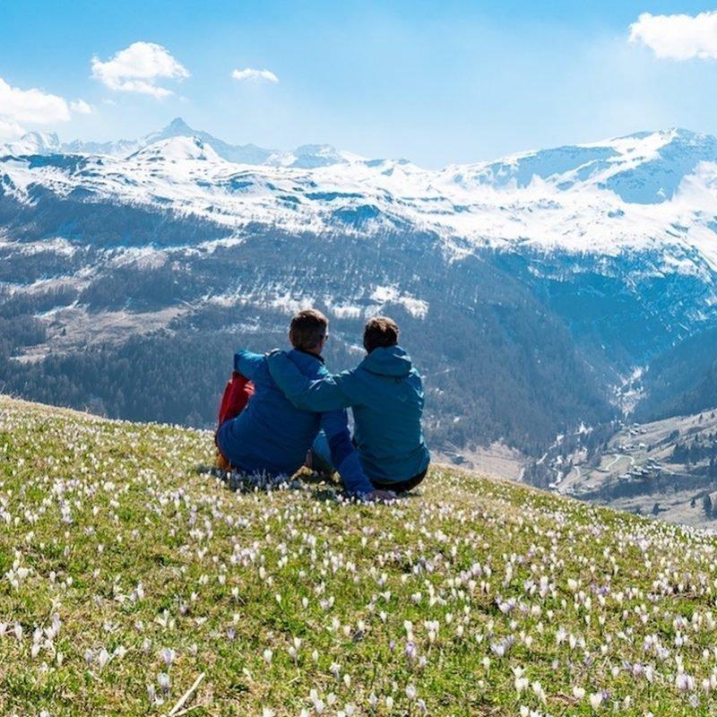 Touren um Monte Spluga