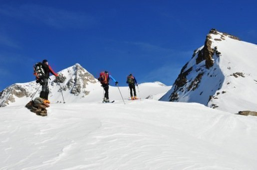 Schihochtour  Großvenediger 3666m von Norden