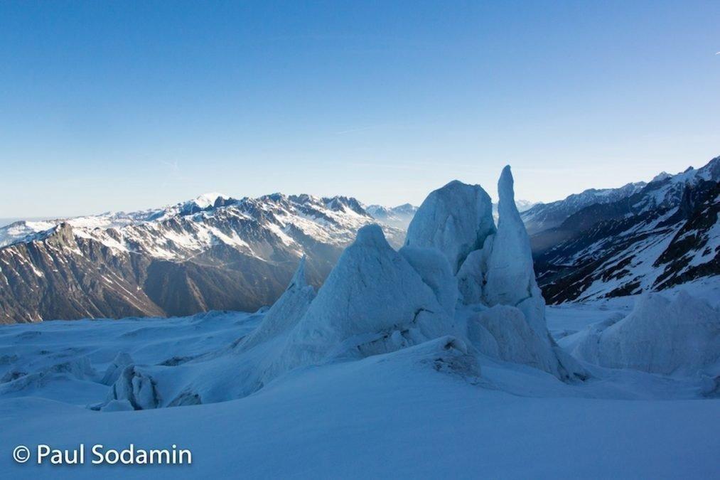 Mont Blanc 4810 m  Besteigung mit Bergführer